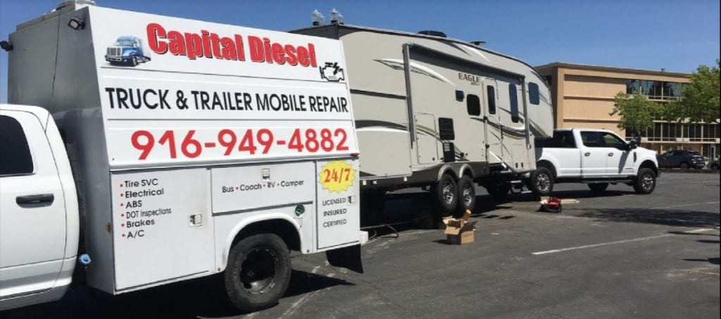Capital Diesel offers unparalleled mobile truck repair service in Sacramento